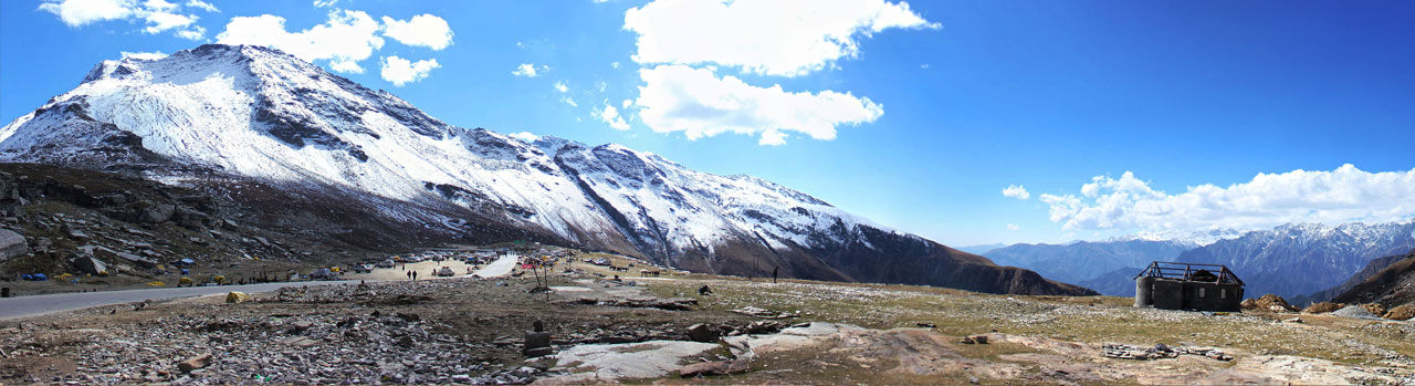 Rohtang Pass/Snow Point in Manali