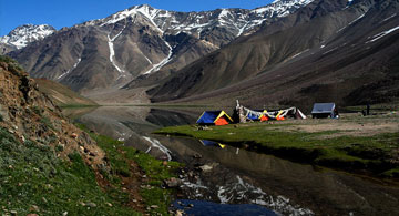 Camping Holiday Tour Package in chandertaal